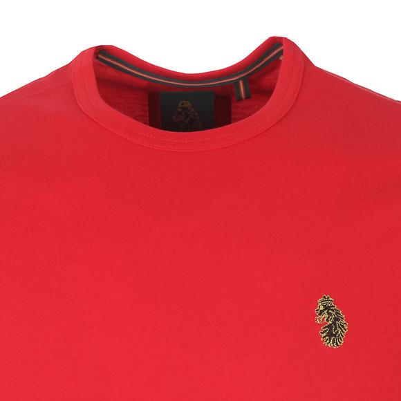 Luke Mens Red Traff Core Crew T-Shirt main image