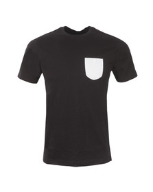 Luke Mens Black S/S Armstrong Tee