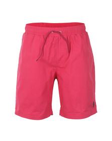 Luke Mens Pink Cagy Knee Length Swim Short