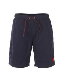Luke Mens Blue Cagy Knee Length Swim Short