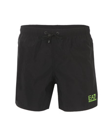 EA7 Emporio Armani Mens Black Sea World Swim Shorts