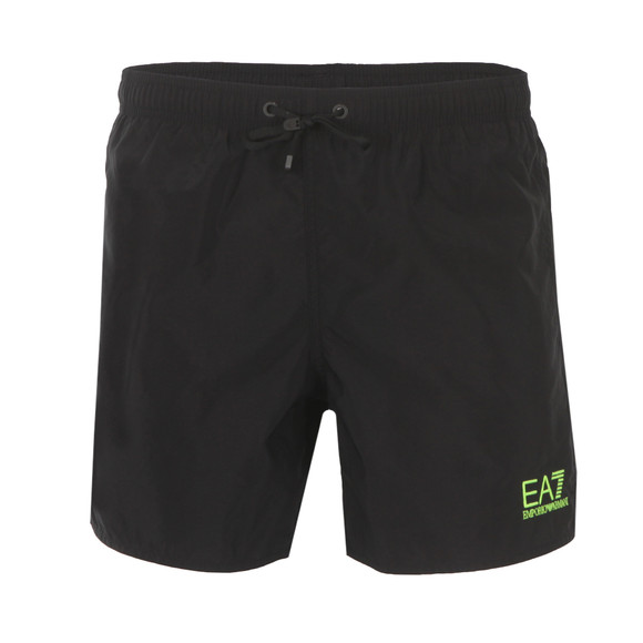 EA7 Emporio Armani Mens Black Sea World Swim Shorts main image