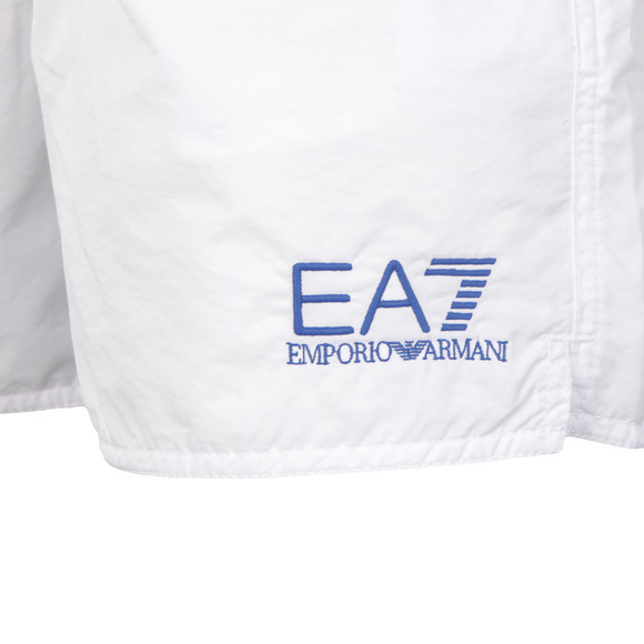 EA7 Emporio Armani Mens White Sea World Swim Shorts main image