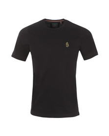 Luke Mens Black Traff Core Crew T-Shirt