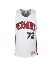 Franklin & Marshall Mens White Vermont Basketball Vest
