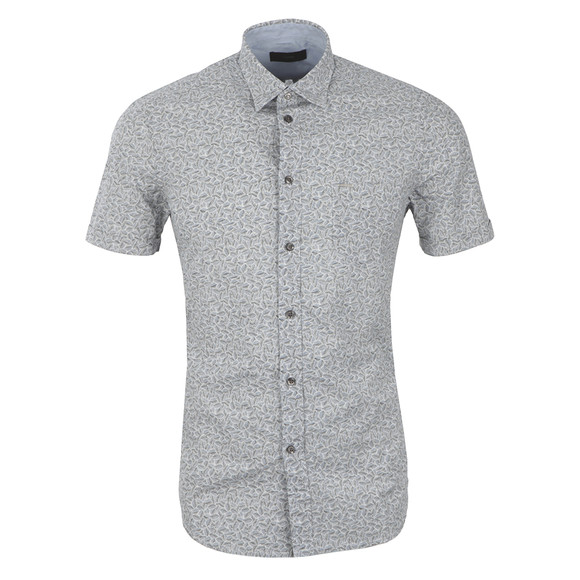 Diesel Mens Grey Palms Shirt main image
