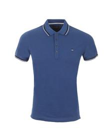 Diesel Mens Blue Oin Polo Shirt