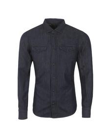Diesel Mens Blue New Sonora Denim Shirt