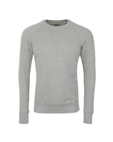 Diesel Mens Grey Mil Perforated Sweatshirt