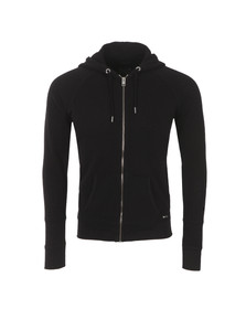 Diesel Mens Black Cuthood Perforated Hoody