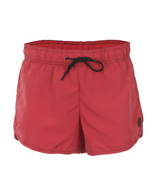 G-Star Mens Red Delf Swim Short