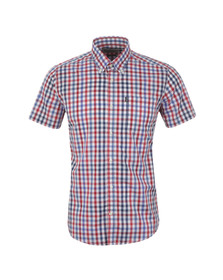 Barbour Lifestyle Mens Red S/S Russell Shirt