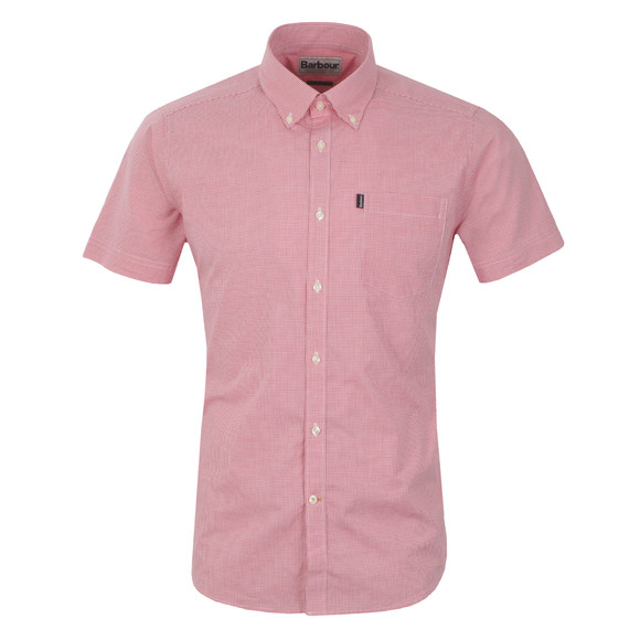 Barbour Lifestyle Mens Pink Triston Shirt main image