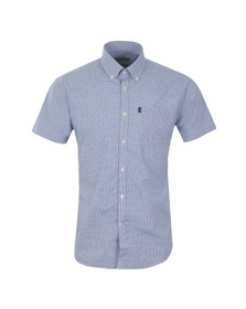 Barbour Lifestyle Mens Blue S/S Triston Shirt