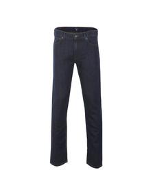 Gant Mens Blue Linen Jean
