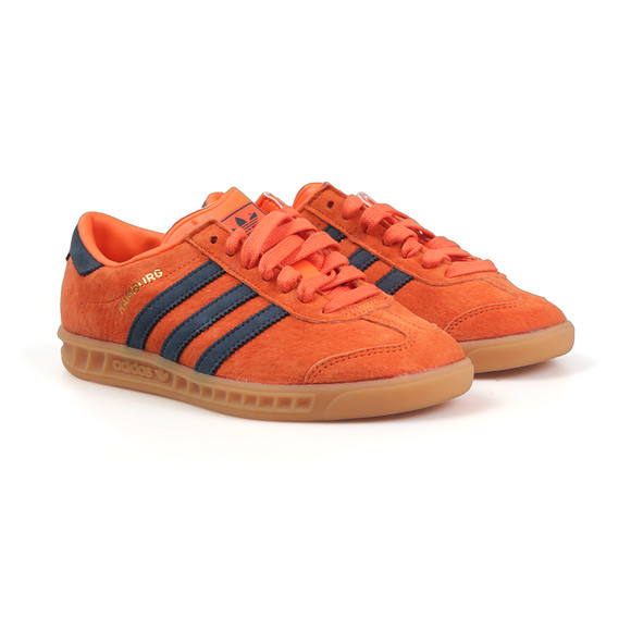 Adidas Originals Womens Orange Hamburg Trainer main image