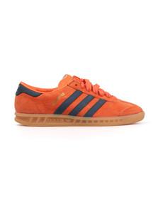 Adidas Originals Womens Orange Hamburg Trainer