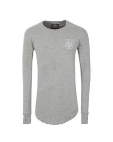 Sik Silk Mens Grey Base Layer T Shirt