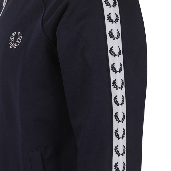 Fred Perry Sportswear Mens Blue Laurel Wreath Tape Track Top main image