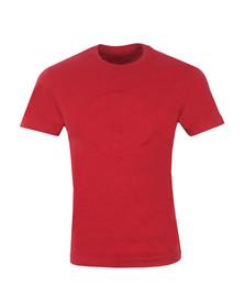 True Religion Mens Red Embroidery Buddha T Shirt