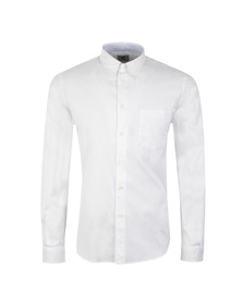 Paul Smith Mens White Casual Fit Plain Shirt