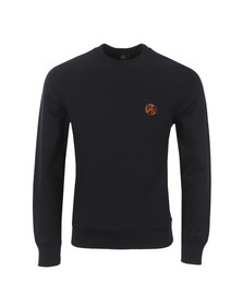 Paul Smith Mens Blue Organic Cotton PS Logo Sweatshirt