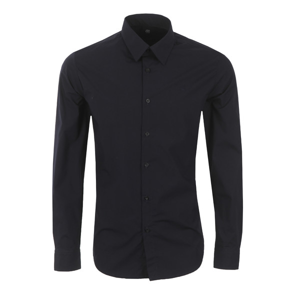G-Star Mens Blue Core Stretch Poplin Shirt main image