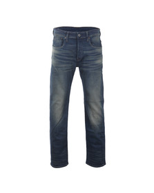 G-Star Mens Blue 3301 Loose Firro Stretch Jean