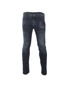 G-Star Mens Blue 5620 3D Slim Jean
