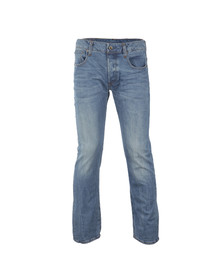 G-Star Mens Blue 3301 Straight Leg Jean