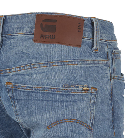 G-Star Mens Blue 3301 Straight Leg Jean main image