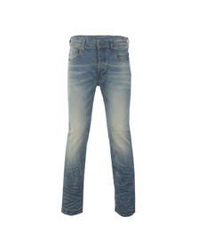 G-Star Mens Blue 3301 Loose Jean