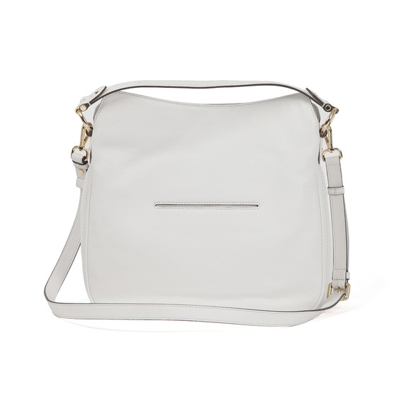 Michael Kors Womens White Heidi Mid Shoulder Bag main image
