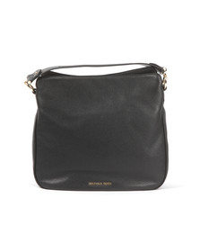 Michael Kors Womens Black Heidi Mid Shoulder Bag