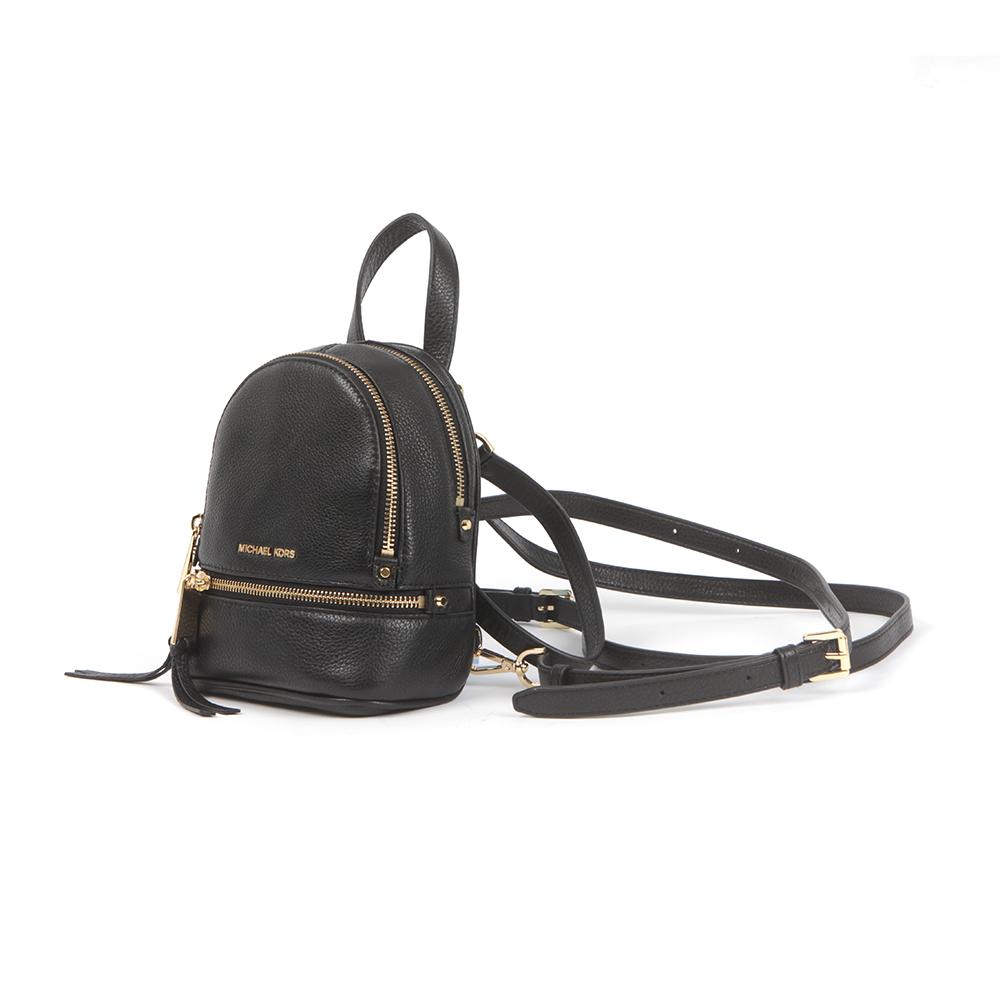 26518eb12143 Michael Kors Rhea Zip XS Messenger Backpack | Masdings
