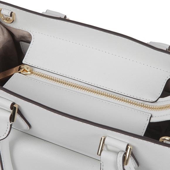 Michael Kors Womens White Bridgette Mid EW Tote Bag main image