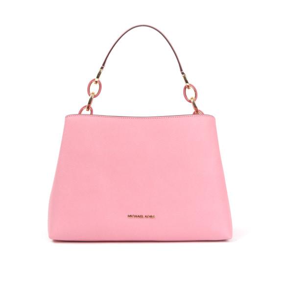 Michael Kors Womens Red Portia Shoulder Bag main image