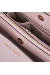 Michael Kors Womens Pink Savannah Mid Satchel