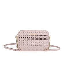 Michael Kors Womens Pink Large EW Crossbody Bag