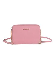 Michael Kors Womens Pink Jet Set Travel Shoulder Bag