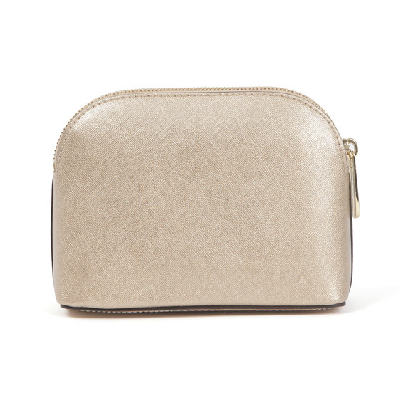 Michael Kors Womens Gold Cindy Travel Pouch main image