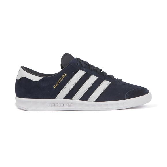 Adidas Originals Mens Blue Hamburg Trainer main image