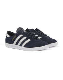 Adidas Originals Mens Blue Hamburg Trainer