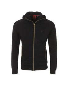 Luke Mens Black Plug Plug Full Zip Top