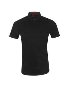 Hugo Mens Black Dellos Polo Shirt