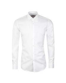 Hugo Mens White C-Enzo Shirt