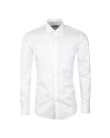 Hugo Mens White C  Joey Shirt