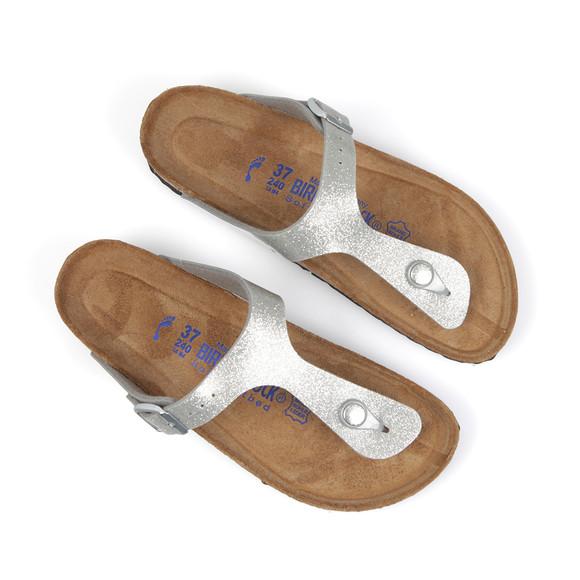 Birkenstock Womens Silver Gizeh Sandal main image