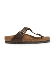 Birkenstock Womens Brown Gizeh Sandal