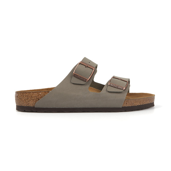 Birkenstock Mens Grey Arizona Sandal main image
